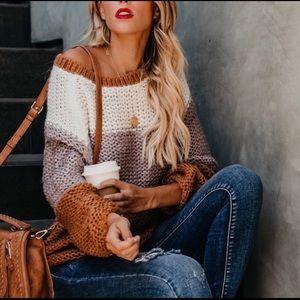 Vici Striped Sweater